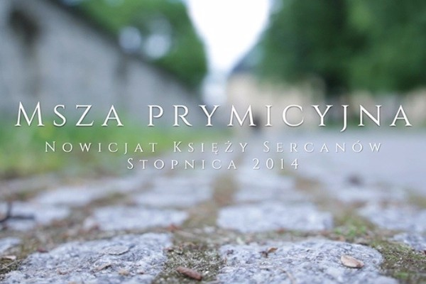 Prymicje w Nowicjacie 2014 - video