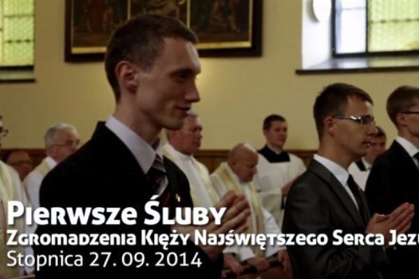 Pierwsza Profesja Zakonna – Rocznik 2014 (wideo)