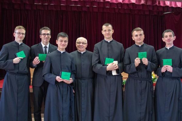 Inauguracja roku akademickiego w sercańskim seminarium