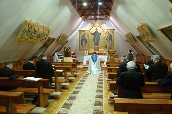 Matka Boża Częstochowska w naszym Nowicjacie – Dzień pierwszy nawiedzenia (video)